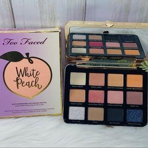 💯🆕 Too Faced White Peach Eye Shadow Palette NIB